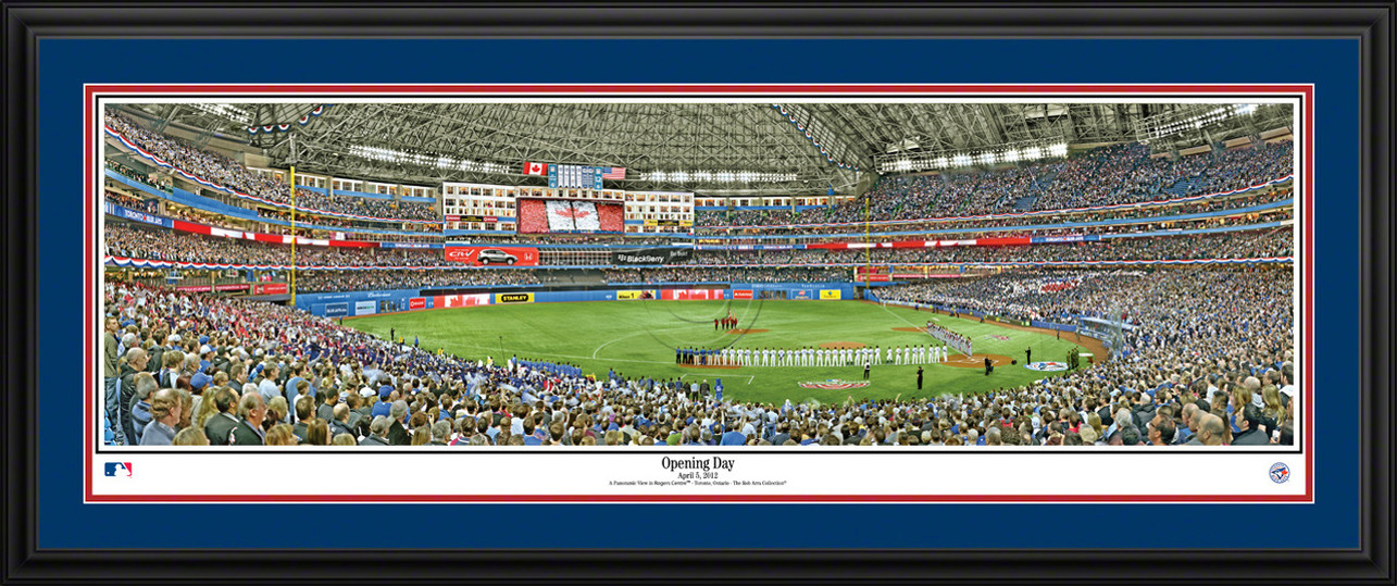 Toronto Blue Jays Panoramic Picture - Opening Day at Rogers Centre MLB Wall Decor