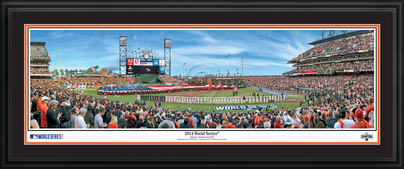 San Francisco Giants - 2014 World Series Panoramic MLB Wall Decor