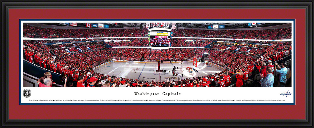Washington Capitals Panoramic Poster - Capital One Arena