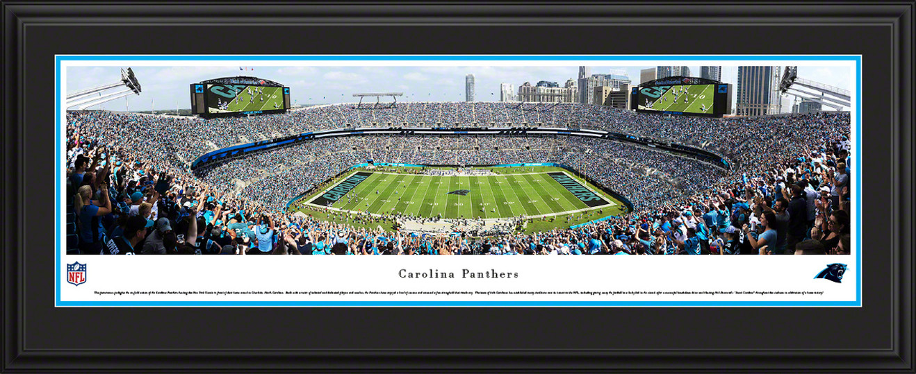 Carolina Panthers Poster - Bank of America Stadium