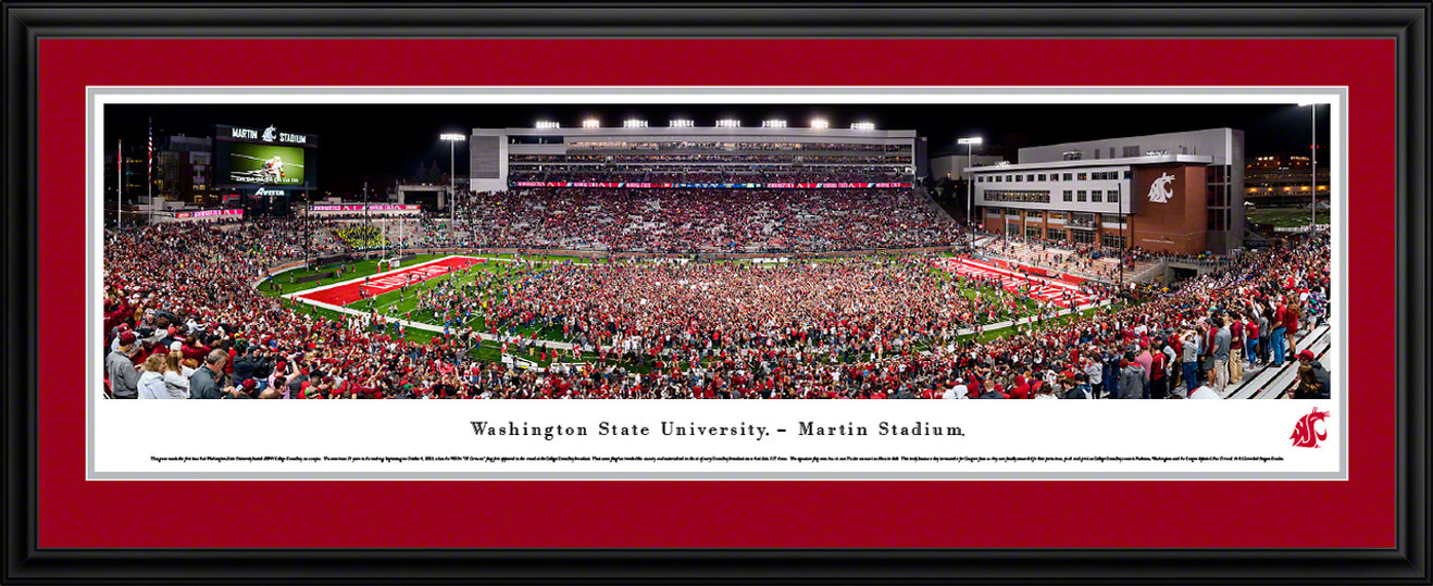 Washington State Cougars Football Panoramic Poster