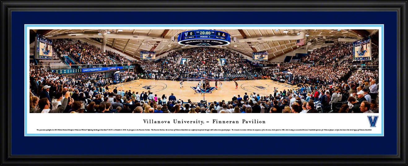 Villanova Wildcats Basketball Panoramic Poster - The Pavilion