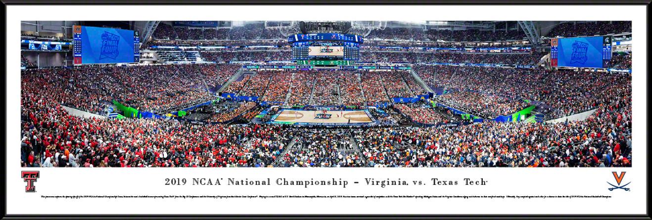 2019 NCAA® Final Four® Tip-off Basketball Panorama - Virginia vs. Texas Tech