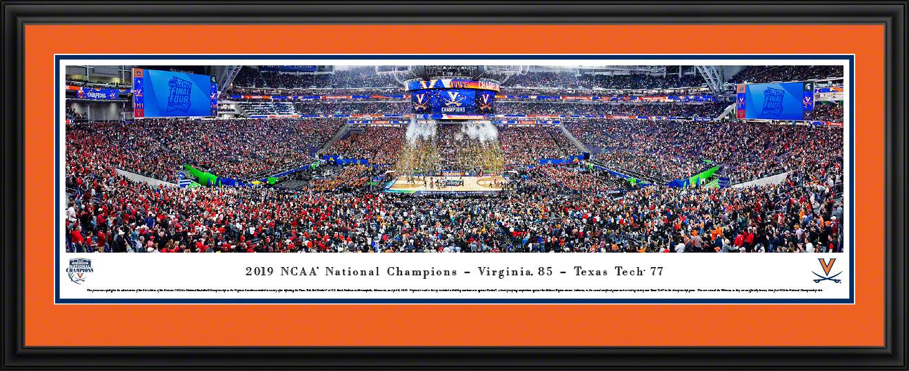 2019 NCAA® Final Four® Championship Basketball Panorama - Virginia Cavaliers