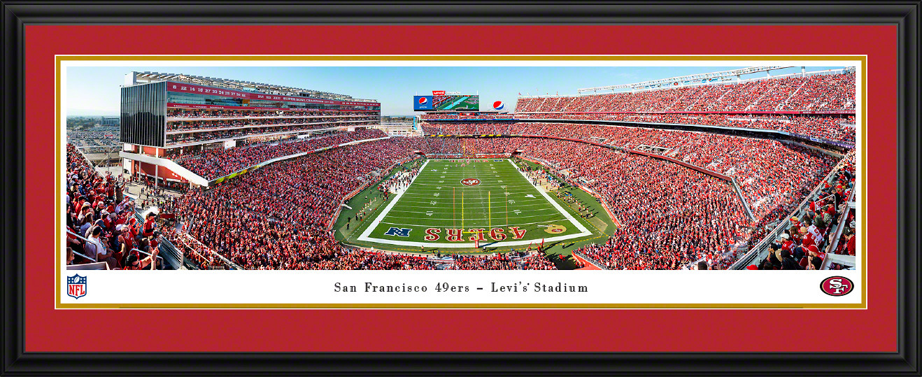 San Francisco 49ers Panoramic Poster - Levi's Stadium Picture
