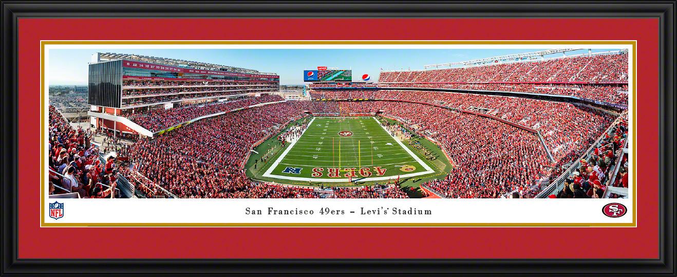 San Francisco 49ers Panoramic Poster - Levi's Stadium Picture