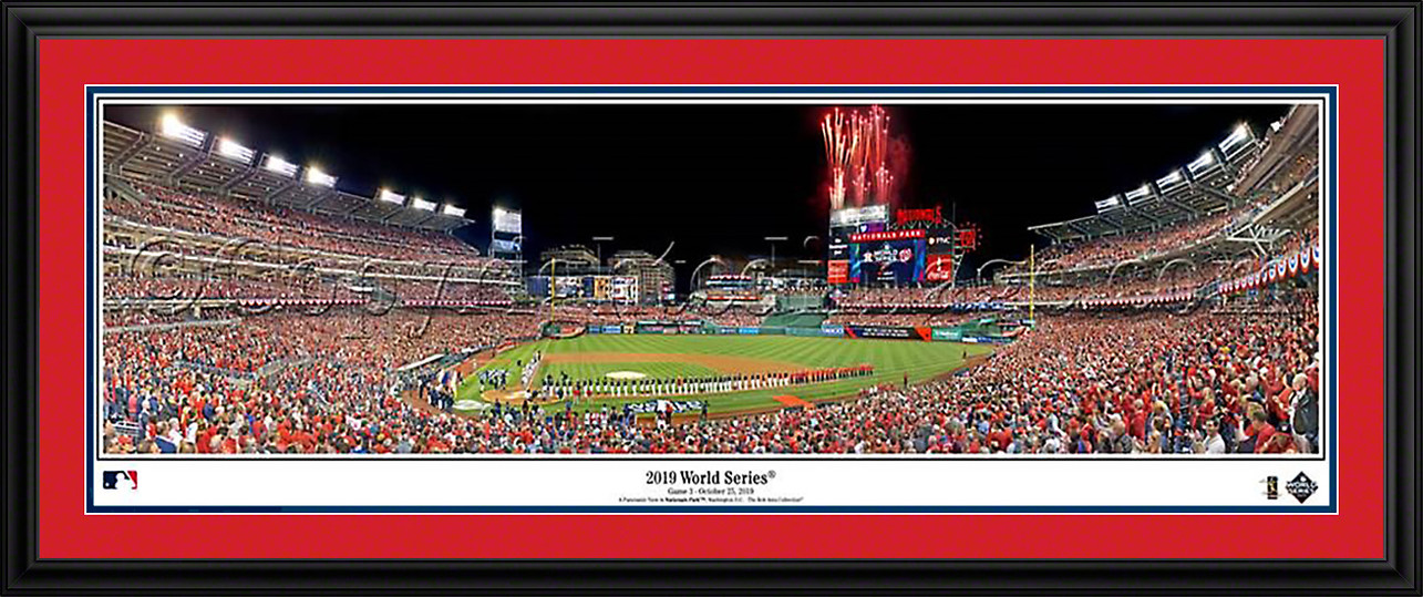 Washington Nationals - 2019 World Series Panoramic MLB Fan Cave Decor