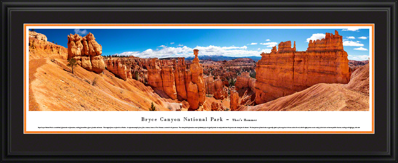 Bryce Canyon National Park Panoramic Picture - Thor's Hammer