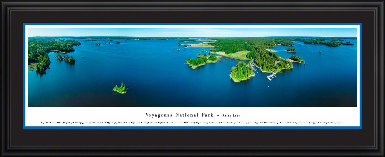 Voyageurs National Park Panoramic Picture - Rainy Lake