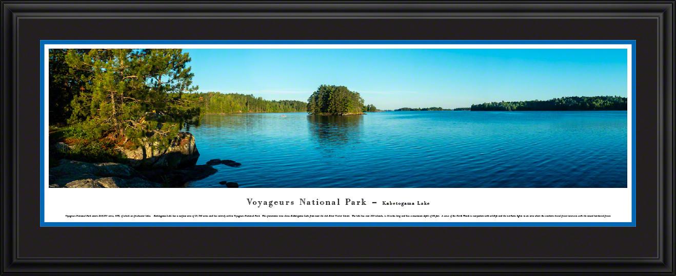 Voyageurs National Park Panoramic Picture - Kabetogama Lake