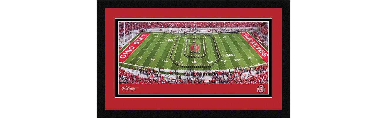Ohio State Buckeyes Football Framed Panoramic Picture - Ohio Stadium