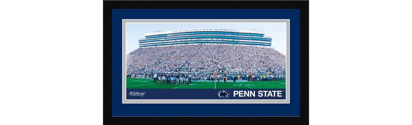 Penn State Nittany Lions Football Framed Panoramic Picture - Beaver Stadium