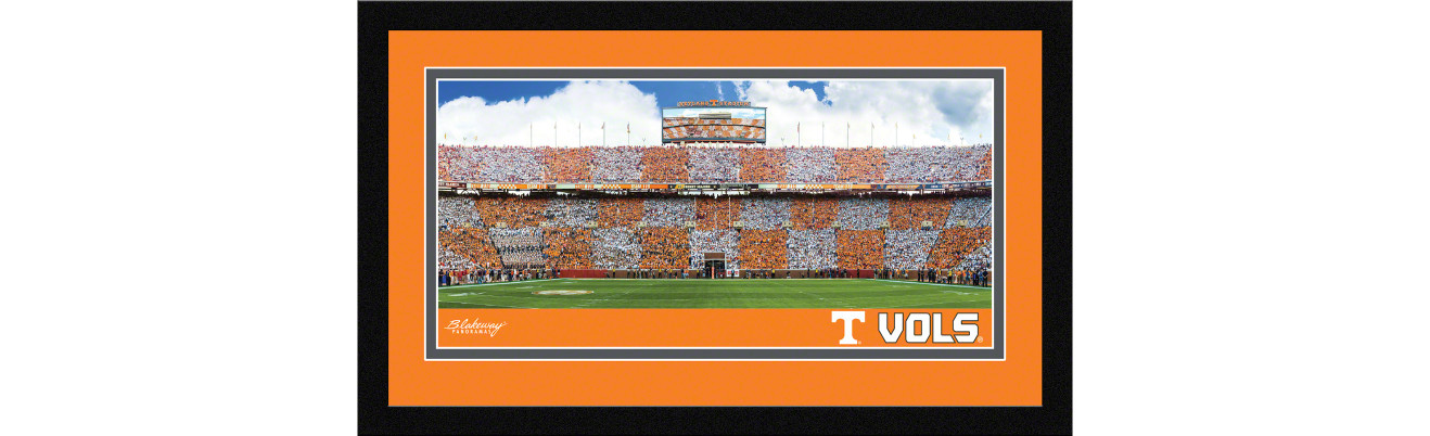 Tennessee Volunteers Football Framed Panoramic Picture - Neyland Stadium