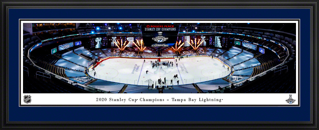 2020 Stanley Cup Champions Panoramic Picture - Tampa Bay Lightning