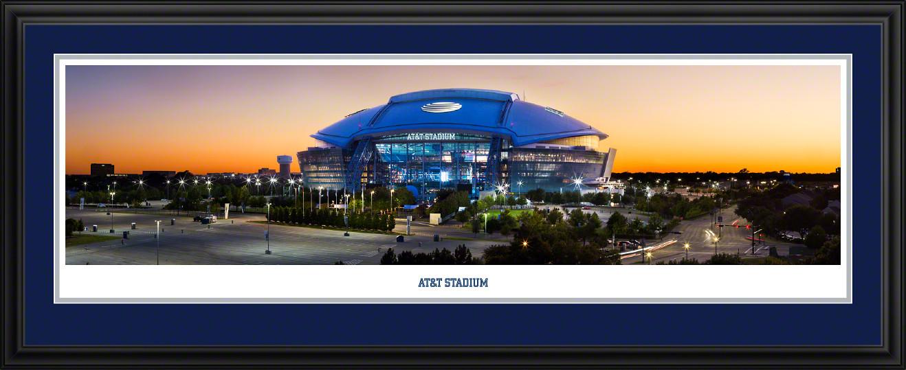 AT&T Stadium Twilight Panoramic Picture - Dallas, Texas
