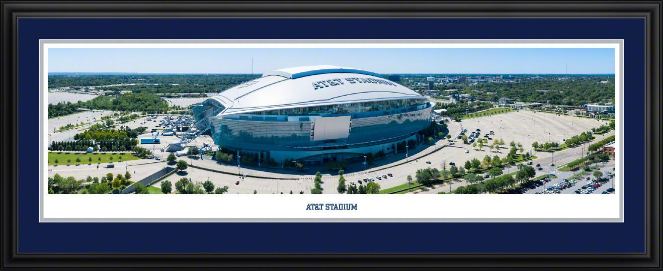 AT&T Stadium Aerial Panoramic Picture - Dallas, Texas