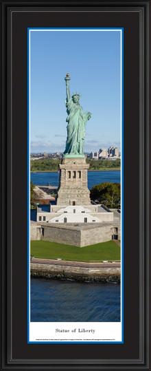 New York City - Statue of Liberty Panoramic Wall Decor
