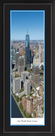 New York City - One World Trade Center Panoramic Wall Art