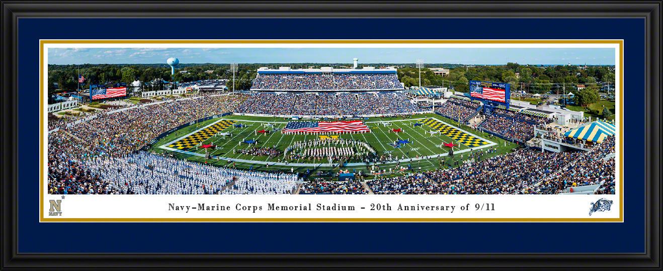 Navy Midshipmen Football Panorama - Navy-Marine Corps Memorial Stadium Picture