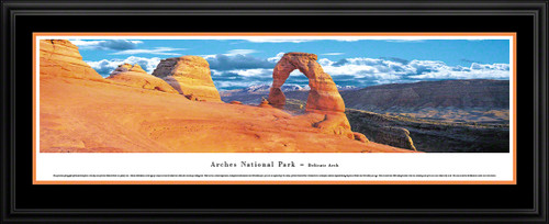 Arches National Park Panoramic Picture - Delicate Arch