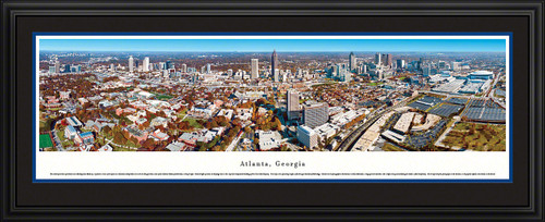 Atlanta, Georgia Panoramic Skyline Picture