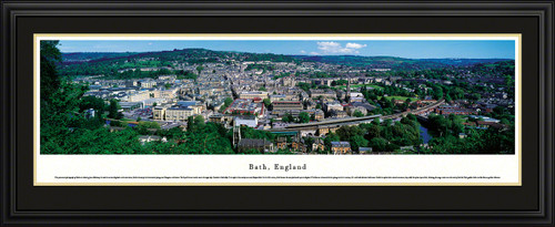 Bath, England Panoramic City Skyline
