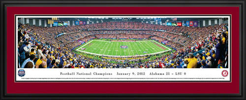 2012 BCS Football Championship Panoramic - Alabama Crimson Tide