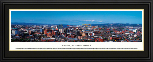 Belfast, Northern Ireland City Skyline Panoramic Picture