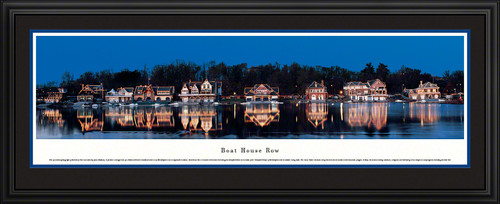 Boat House Row Panoramic Picture