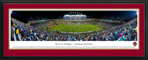 Boston College Eagles Panoramic - Alumni Stadium Picture - Football
