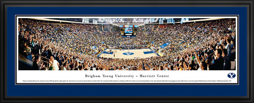 Brigham Young Cougars Panoramic - Marriott Center Picture - Basketball
