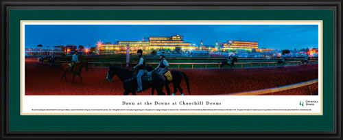 Dawn At Churchill Downs Panoramic Picture - Kentucky Derby