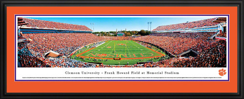 Clemson Tigers Panorama - Memorial Stadium Picture