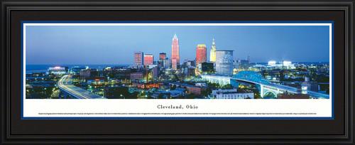 Cleveland, Ohio City Skyline Panorama - Twilight