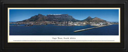 Cape Town, South Africa Skyline Panorama