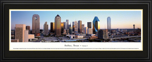 Dallas, Texas City Skyline Panorama