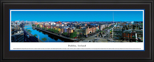 Dublin, Ireland Panoramic Skyline Picture