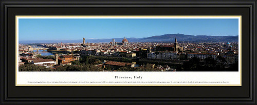 Florence, Italy City Skyline Panoramic Picture