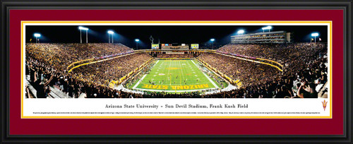 Arizona State Sun Devils Panorama - Sun Devil Stadium Picture