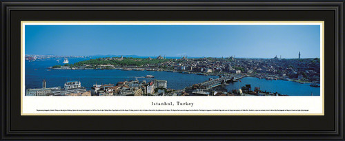 Istanbul, Turkey City Skyline Panoramic Picture