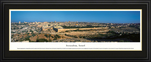 Jerusalem, Israel City Skyline Panoramic Picture