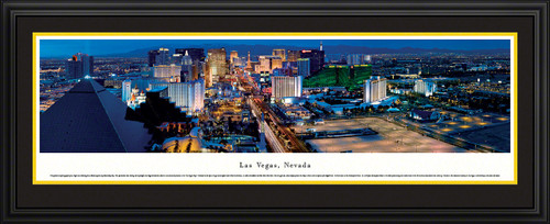 Las Vegas, Nevada Night Skyline Panorama - Twilight