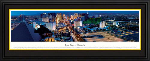 Las Vegas, Nevada Night Skyline Panorama - Twilight