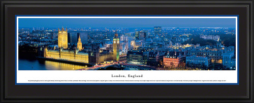 London, England City Skyline Panorama - Twilight