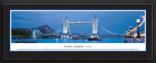 London, England Skyline Panoramic Picture - Tower Bridge - Twilight