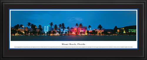 Miami Beach, Florida Panoramic Picture