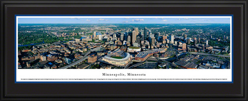 Minneapolis, Minnesota City Skyline Panorama