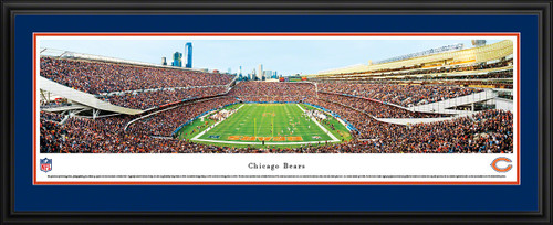 Chicago Bears Panoramic - Soldier Field Picture - End Zone