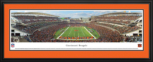 Cincinnati Bengals Panoramic - Paul Brown Stadium Picture - End Zone