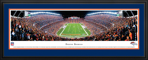 Denver Broncos Panoramic - Invesco Field Picture - End Zone